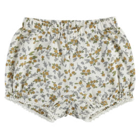 Little Cotton Clothes Poppy Bloomers – yellow meadow floral