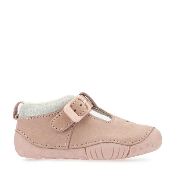 start-rite_bubble_pink_girls_prewalking_shoes_buckle