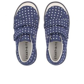 Start Rite Bounce Navy Canvas Shoes