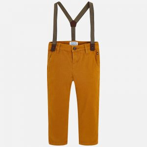 Mayoral Ochre Sli Fit Chinos
