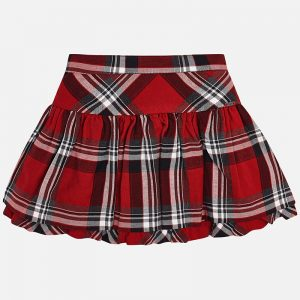 Mayoral Tartan Check Skirt