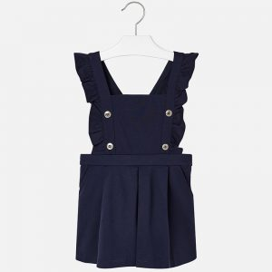 Mayoral navy pinafore dress