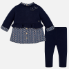 Mayoral navy leggings set