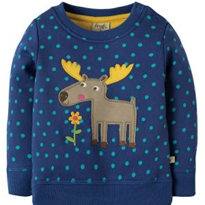 Frugi jump about moose detail juper