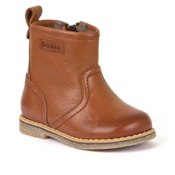 Froddo Megan Cognac Brown Ankle Boot