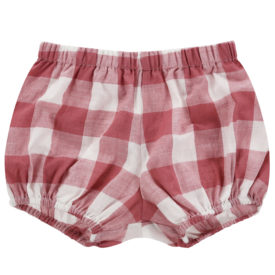Little Cotton Clothes Poppy Bloomers – gingham mulberry