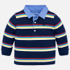 Mayoral striped long sleeve bright