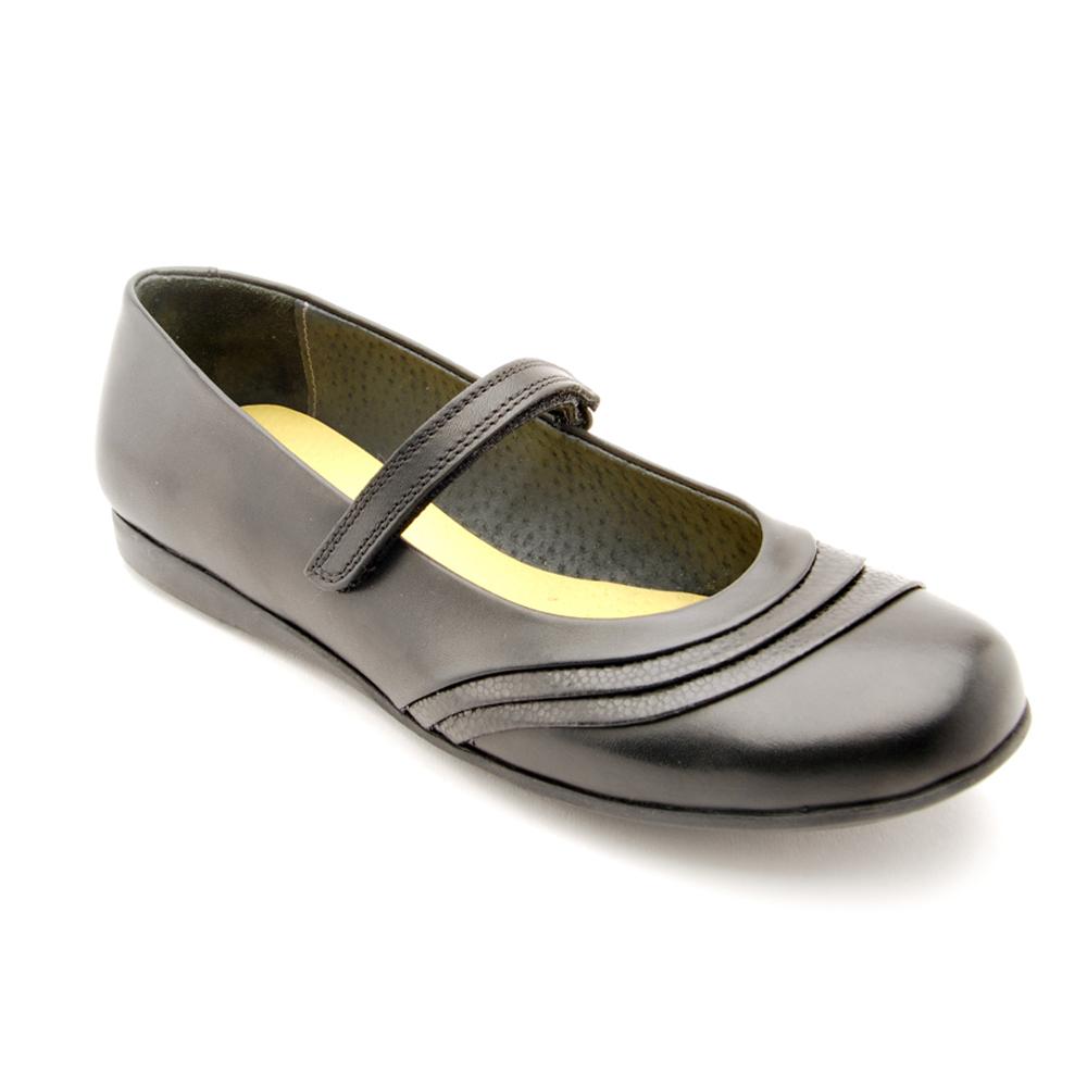 35fb84829eb Start-Rite Dawn- Girls Black School Shoe - Treehouse Childrenswear