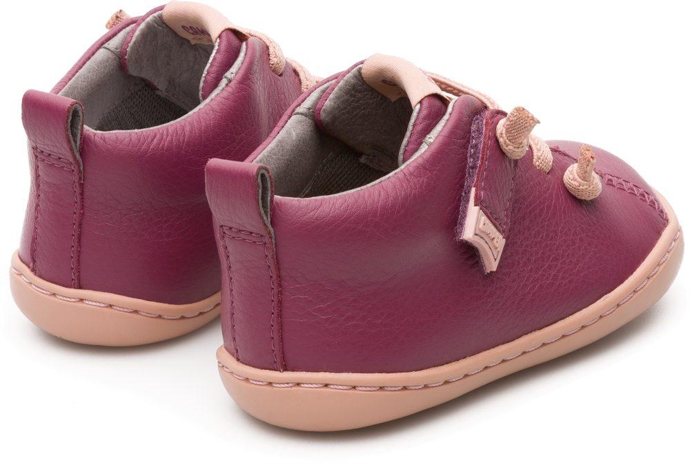 f2e42a9befa9e Camper Peu Purple Leather First Walking Shoe - Treehouse Childrenswear