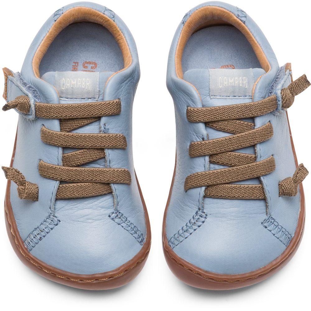 aeb98065b581c Camper Peu Light Blue First Walking Shoe - Treehouse Childrenswear