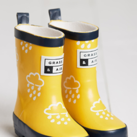 Grass & Air Yellow Cloud Colour Changing Wellies
