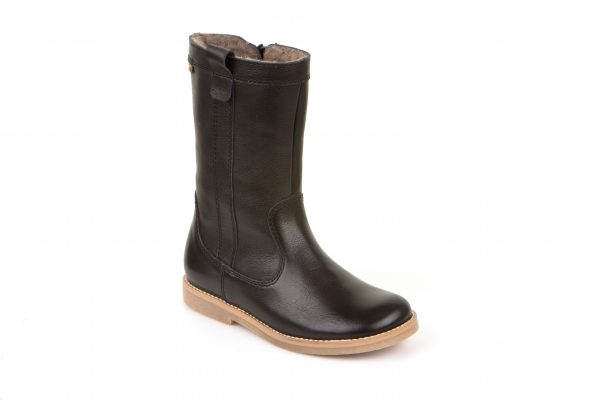 Froddo-Maisie-Black-Waterproof-Fleece-Boot-Girls-Leather