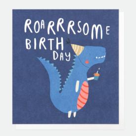 Caroline Gardner Roarsome Birthday Card