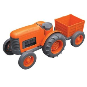 Orange_tractor_kids_toy