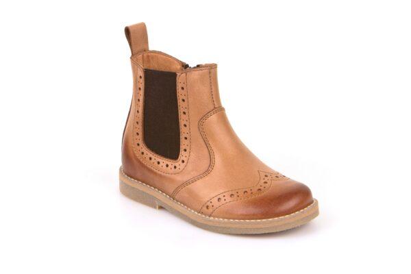 Froddo-brogue-boots-light-tan-unisex-children-ankle-boot
