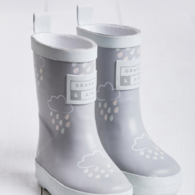 Grass & Air Grey Cloud Colour Changing Wellies
