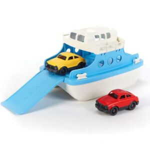 green-toy-Blue-ferry-boat