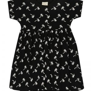 Turtledove London Palm Print Dress