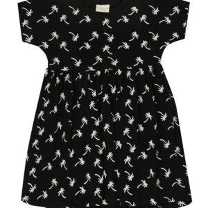 Turtledove London Palm Print Dress