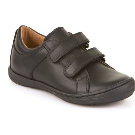 Froddo Gray, Black Slim Closed-In School Shoe