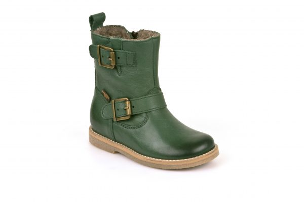 froddo-lily-green-buckle-mid-length-boot-girls-fleece-lining