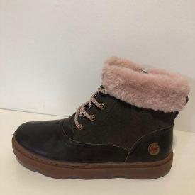 Camper Kiddo Boots in Pink Trim