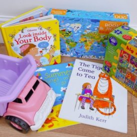 Large Surprise Activity Bundle of puzzles, toys, books & crafts for age 0-5 worth £60