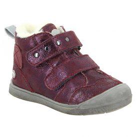 Noel Mini Oreky Burgandy Metallic Ankle Boot