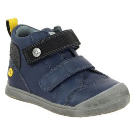 Noel Mini Osaky Navy Leather Ankle Boot