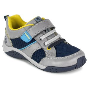 pediped-justice-grey-kids-boys-trainer-single-velcro-black-toe-and-sole-yellow-lining
