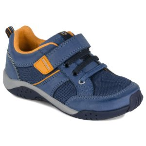 pediped-justice-blue-orange-flex-trainer-one-velcro-rubber-sole-kids-shoes