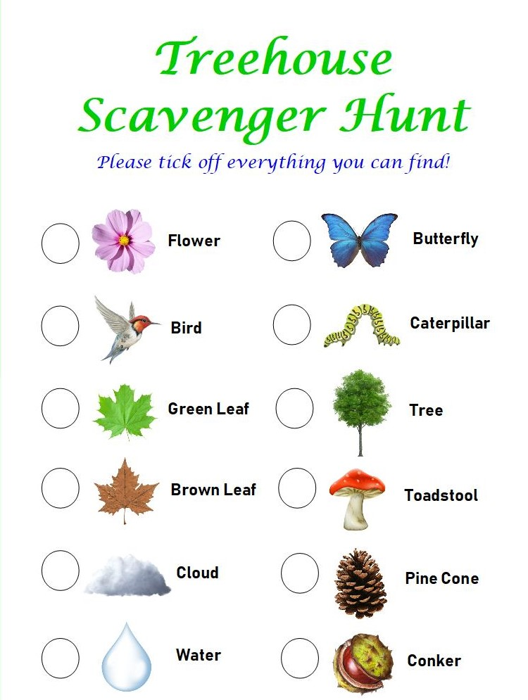 Autumn Outdoor Scavenger Hunt with Treehouse - Treehouse Childrenswear