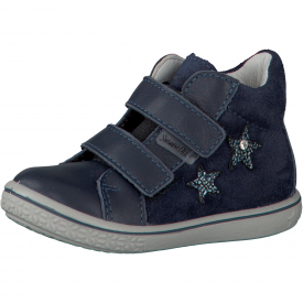 Ricosta Sia Navy Star Water Resistant Ankle Boot