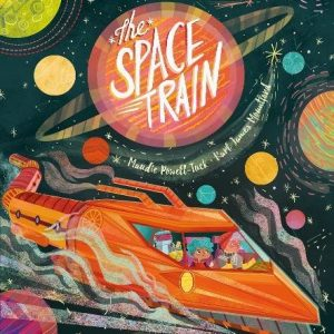 space_train_Kids_book