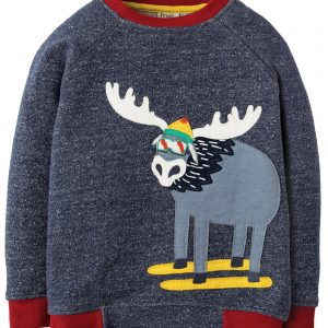 Frugi Jaco Applique Jumper long sleeve