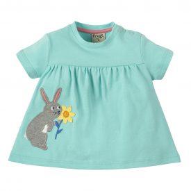 Frugi Eva Rabbit Applique Top