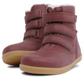 Bobux Aspen Plum Merino Wool Boot
