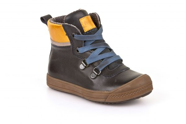 Froddo-Teddy-Navy-Ankle-Boot-Blue-Laces-Yellow-Patches-Brown-Sole