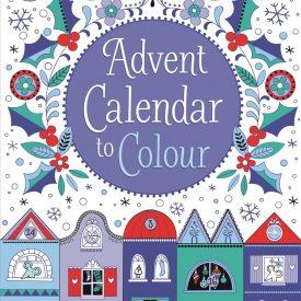 Usborne Advent Calender to Colour