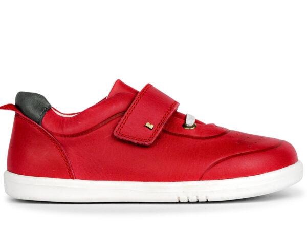 Red_leather_bobux_Ryder_shoe