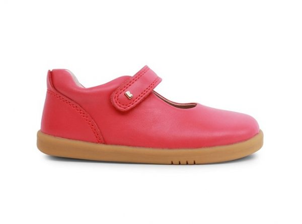 bobuxdelight_watermelon_leather_girls_shoe_velcro