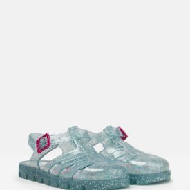 Joules JuJu Jelly Sandals in Aqua