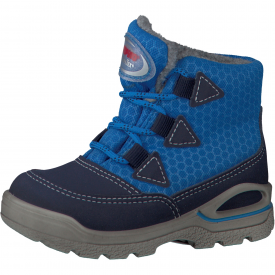 Ricosta Emil, Royal Blue Water Resistant Snow Boot