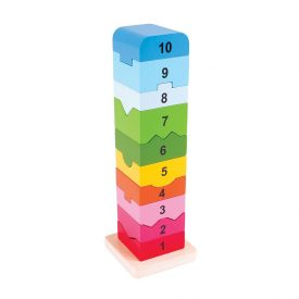 Big Jigs Stacking Number Tower