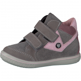 Ricosta Kimo Grey and Light Pink Water Resistant Boot