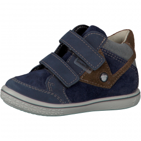 Ricosta Kimo Navy and Hazel Water Resistant Boot