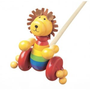 orangetreetoy_lion_push_along_toy