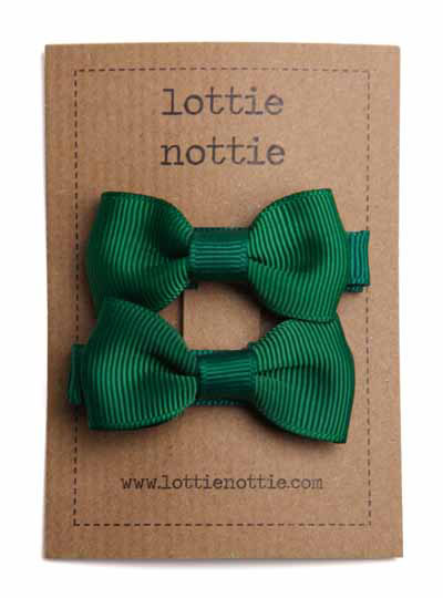5f12398441350 Hair Bow Clips - Variety of School Colours