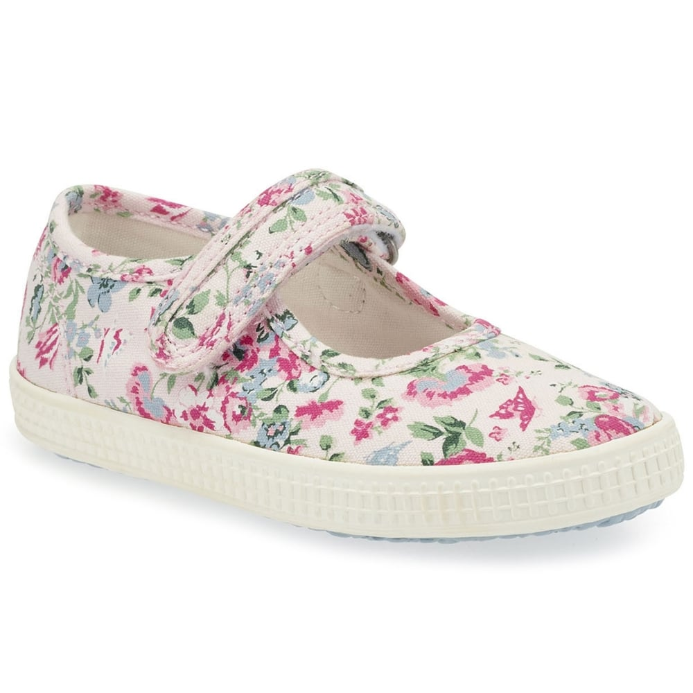 b1fc723c3a2 Start-rite Posy Pink Floral Canvas Shoes - Treehouse Childrenswear