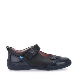 Start-Rite Swing Gunmetal Leather Shoe